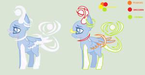 MLP Galaxias Pony Original Species (CLOSEUPDATING) by HuiRou