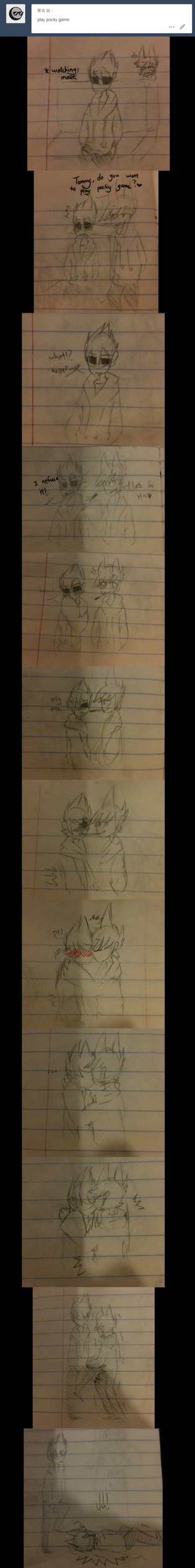 Eddsworld pocky game. by HuiRou