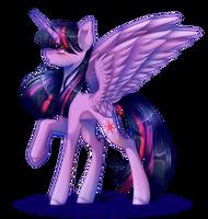 [SpeedPaint] Twilight (Redraw) by HuiRou