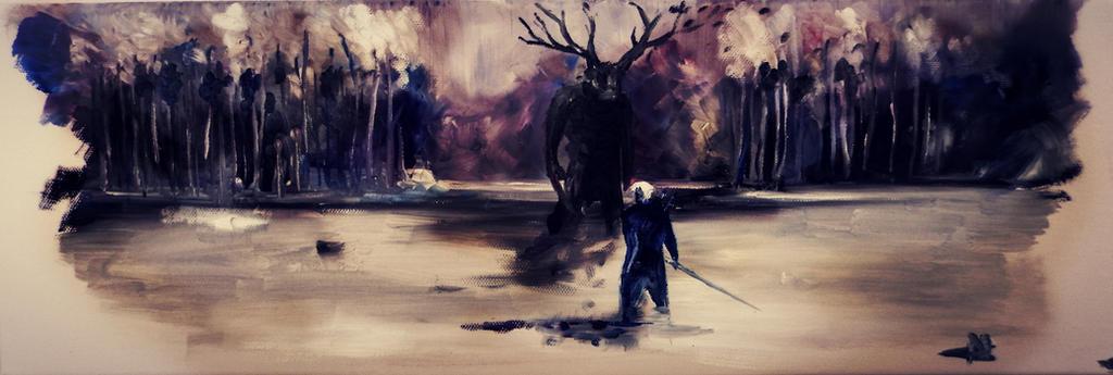 Geralt by Nikilblack
