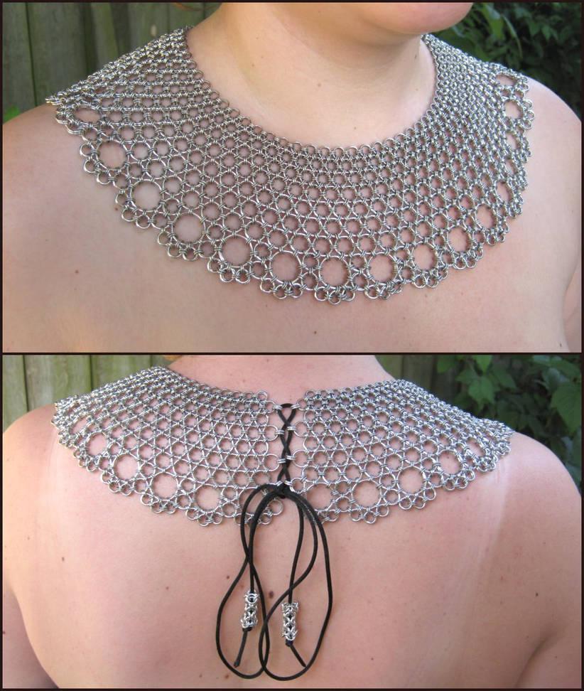Metal Lace Mantle