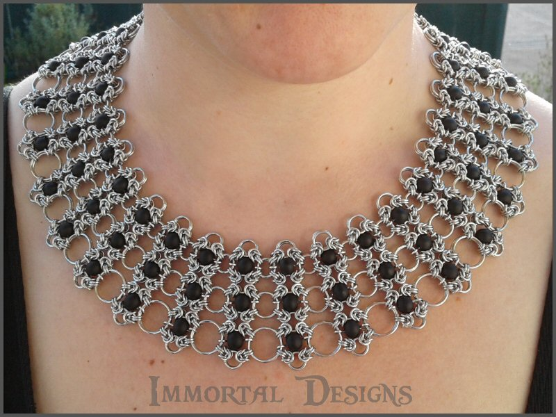 Graduating Romanov Lace Sheet Collar by immortaldesigns on ...