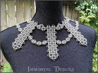 Bunting Collar by immortaldesigns