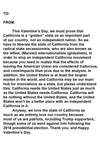 State of California Valentine's Day letter by Anti-Calexiteer