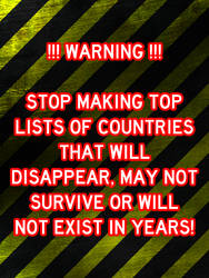 A fair warning to all top listers about countries by Anti-Calexiteer