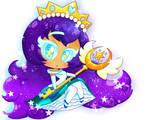 Princess Crystal Galaxy Cookie