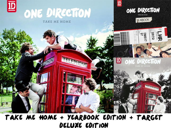 Take Me home + Yearbook + Target Deluxe Edition by