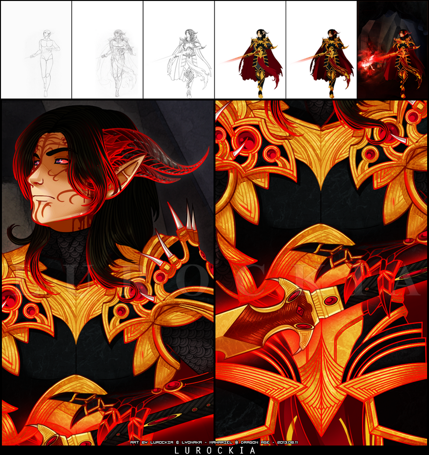 P: The Dragon Emperor [Detail Shots] by Lurockia