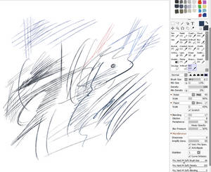 Bic Ballpoint Pen Brush for Paintool Sai