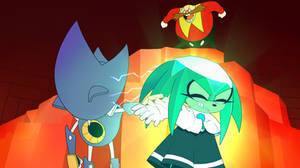 Sonic Mania ft. Metal Sonic and The Master Emerald