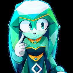 Emerald the Echidna
