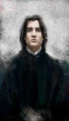 Severus Snape by MarinaMichkina