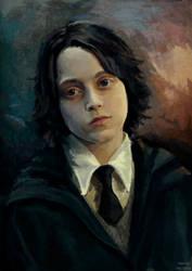 Severus Snape child by MarinaMichkina