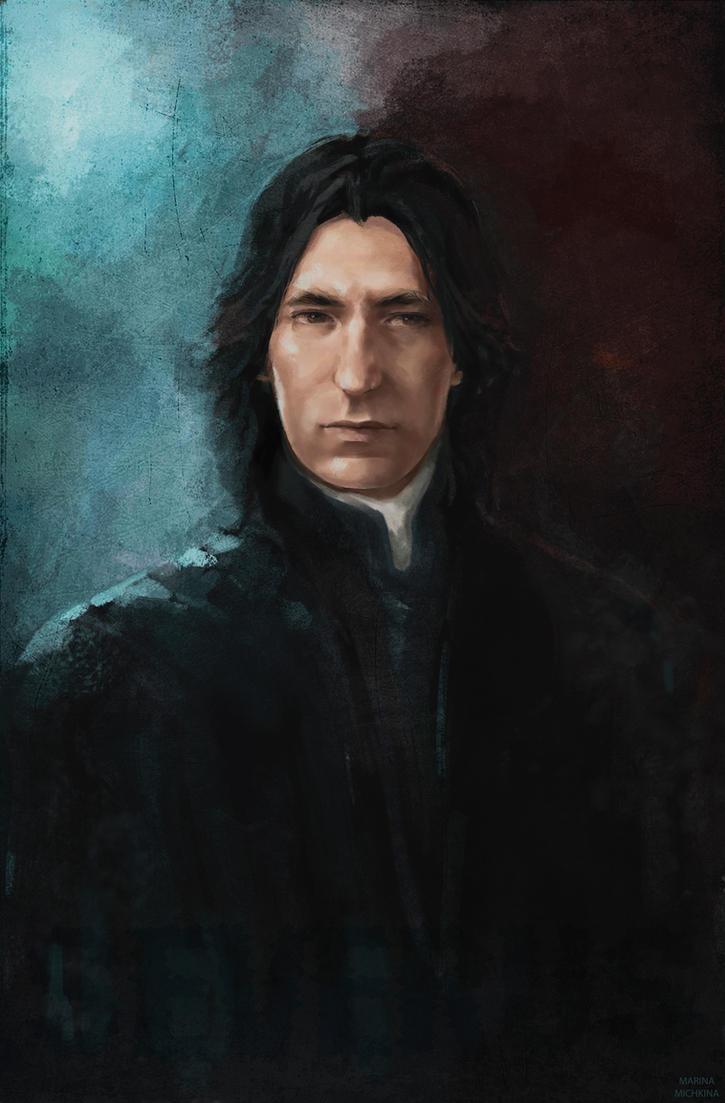 Professor Snape by MarinaMichkina