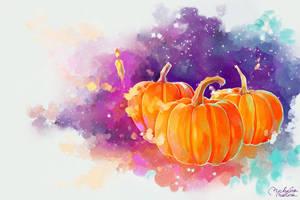 magic pumpkins by MarinaMichkina