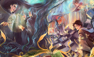 Harry Potter and the philosopher's stone by MarinaMichkina