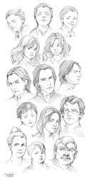 Portraits by MarinaMichkina