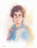 Harry Potter by MarinaMichkina