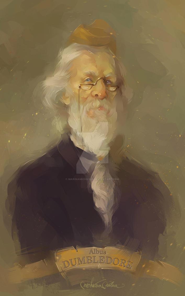 Dumbledore by MarinaMichkina