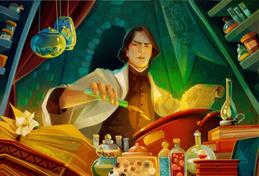 Potion master by MarinaMichkina