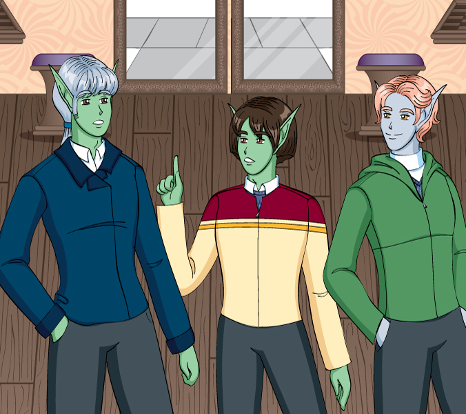 Introducing the Boys Vector by Lanisatu