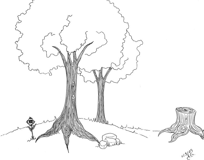 Simple Landscape by Lanisatu