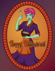I Love Hallowe'en by Lanisatu