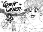 Green Corner Anthology Cover