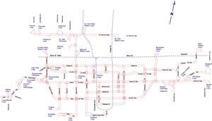 TTC Surface Route Map