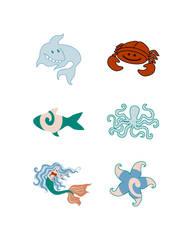 Mermaid's Pond Icons by Lanisatu