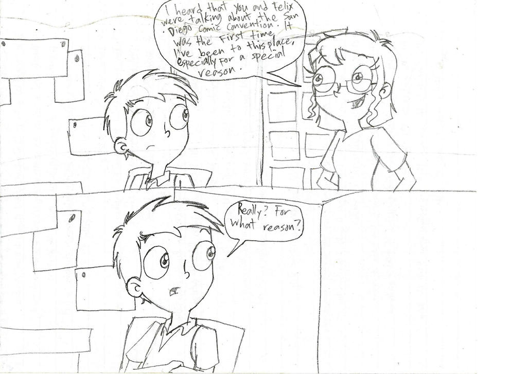 Dissonance Presents Life At The Comics - Four by RobbieMelrose