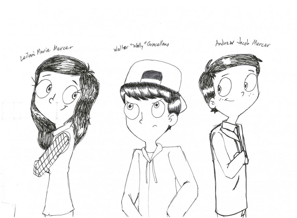 Wally, Lani and Andy by RobbieMelrose