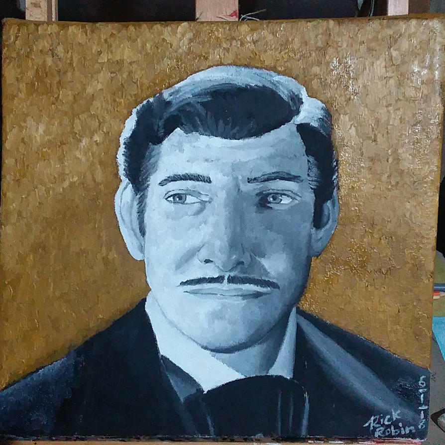 Clark Gable, King of Hollywood by RobbieMelrose