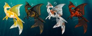 Goldfish Dragons - adoptables (REDUCED PRICE)