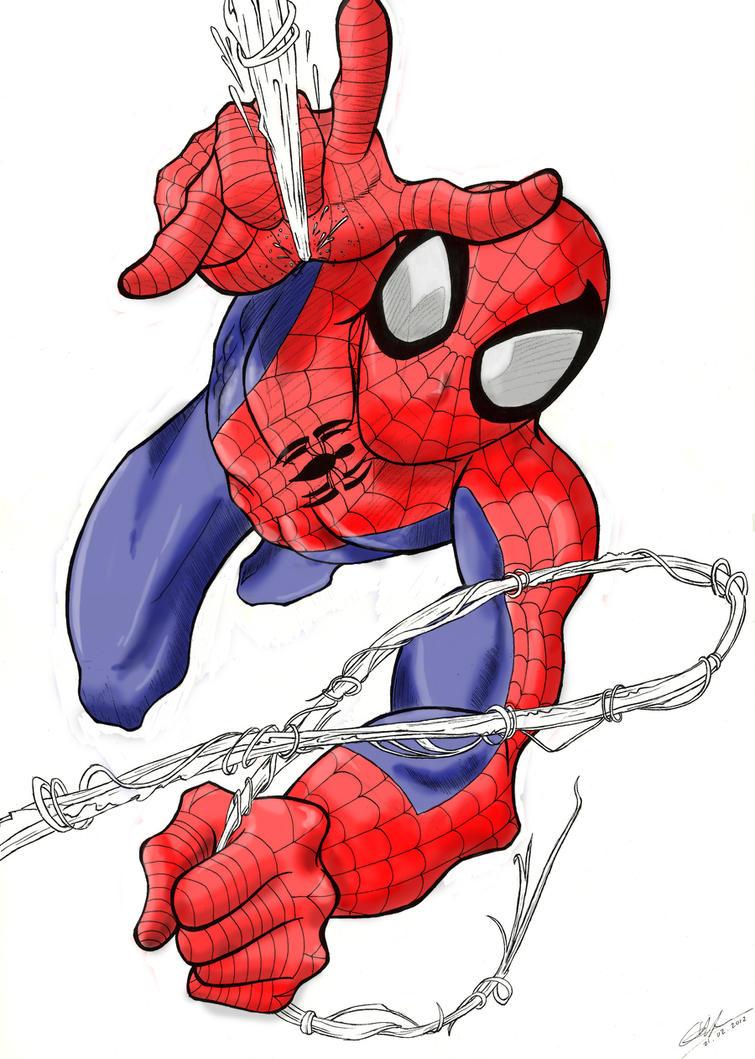 Spiderman by Noel-TF