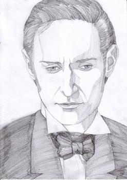 Portrait of Richard Armitage as John Thornton