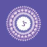 violet chakra mandala (Sahasrara) by Amalias-dream