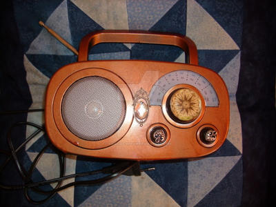 Steampunk Radio by Amalias-dream
