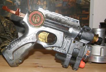 Her Majestys Delight Steampunk Nerf Gun