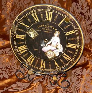 upcycling Steampunk decorative clock