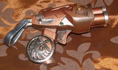 Amalias secret pocket pistol - Steampunk Nerf Gun