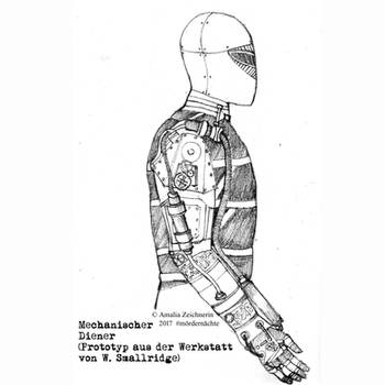 Mechanical servant - Steampunk