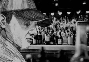 Alex Donovan im Paddy's