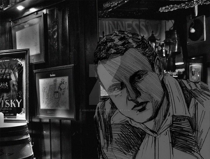 Brendon im Pub by Amalias-dream