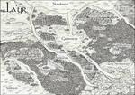 Fantasy-Landkarte: La'yr by Amalias-dream