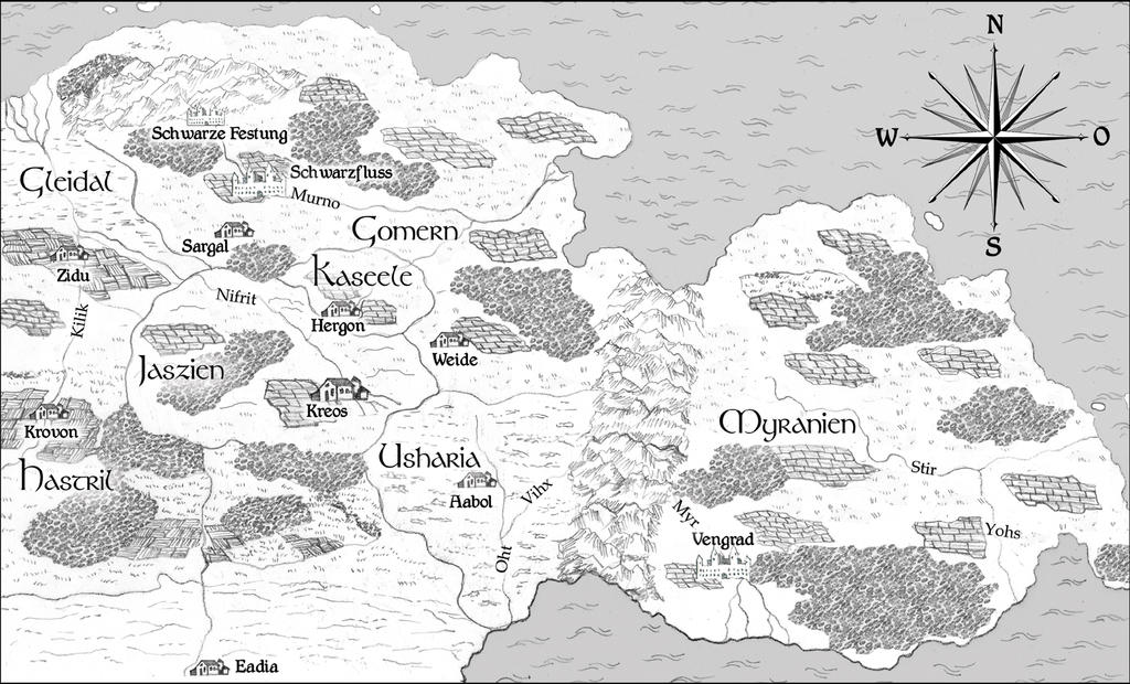 Fantasy Landkarte by Amalias-dream