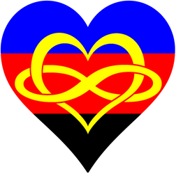 Polyamory Pride Heart