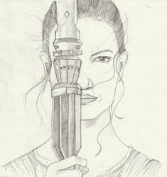 Fanart: Rey (Star Wars)