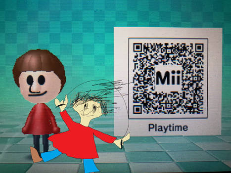 My Own Playtime Mii (QR CODE INCLUDED)