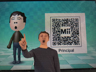 My Own Made Principal Mii (QR CODE INCLUDED)